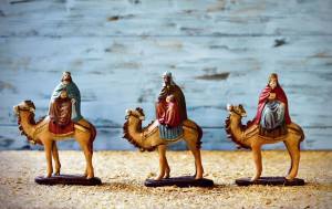 A major Christian celebration. Epiphany commemorates the presentation of the infant Jesus to the wise men