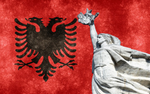 Marks Albania's liberation from Nazi Germany forces in 1944
