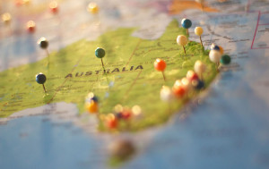 Australia is the world's sixth-largest country by total area.