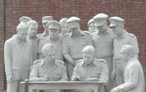 Commemorates the surrender of the Pakistani army to the Mukti Bahini