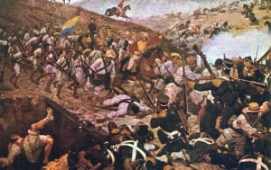 The 1819 battle in which Colombia acquired its definitive independence from Spanish Monarchy
