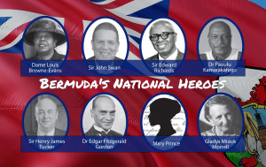 Honours those persons who have been officially designated as National Heroes in Bermuda