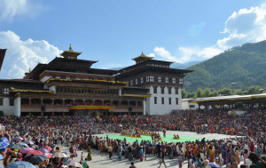 Tshechu are annual religious Bhutanese festivals held in each district of Bhutan