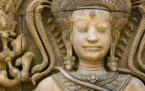 Marks three key events in Buddhas life - his birthday, the enlightenment and his achievement of Nirvana