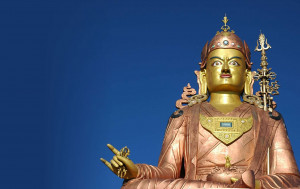 "Guru Rinpoche, was an 8th-century Buddhist master from the Indian subcontinent, venerated as a ""second Buddha"" in Tibetan Buddhism."
