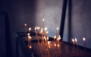 Candlemas is a Christian holiday that marks  the presentation of the infant Jesus at the Temple in Jerusalem.