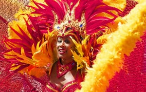 The streets of many Caribbean countries erupt with colour and noise as Carnival ushers in the Easter period