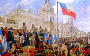On September 18th 1810, Chile broke from Spanish rule, declaring their independence. The Spanish had ruled Chile since the middle of the Sixteenth Century