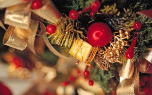 Christmas celebrates the Nativity of Jesus which according to tradition took place on December 25th 1 BC