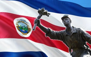 Juan Santamaria was a Costa Rican soldier who is the national hero of Costa Rica due to his heroic actions on April 11th 1856 in the Battle of Rivas