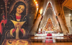 Our Lady of Altagracia is a portrait of the Virgin Mary painted in the 16th century, kept in The Basilica of Our Lady of Altagracia in the city of Salvaleón de Higüey