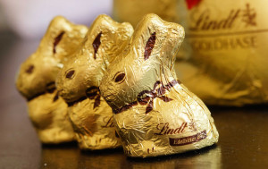 The idea of the Easter bunny giving candies and eggs is said to have originated in Germany during the middle ages.