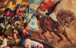 The Battle of Pichincha took place on May 24th 1822, on the slopes of the Pichincha volcano, 3,500 meters above sea-level, next to the city of Quito