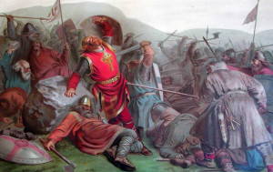 Commemorates the Norwegian King Olav the second, who brought Christianity to the Faroe Islands and who died in battle on July 29th 1030