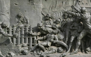 Over one hundred people died in the storming of the Bastille, but only seven prisoners were actually being held in the Bastille at the time. This included four forgers and two lunatics.