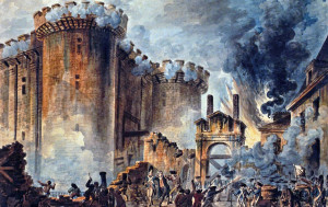 After the storming of the Bastille, its main key was given to the Marquis de Lafayette who later gave it to George Washington