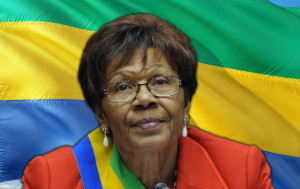 Marks the appointment of the first female to the Government in Gabon