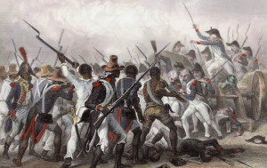Commemorates the decisive victory over the French in the Battle of Vertières on November 18th 1803