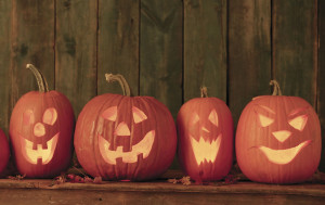 About 99% of all pumpkins sold are used as Jack 'O Lanterns for Halloween.