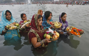 Chhath is an important Hindu festival dedicated to the worship of the Sun god and his wife.