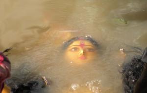 Durga Puja is one of the largest Hindu festivals that involves worship of Goddess Durga symbolising power and triumph of good over evil in Hindu mythology.
