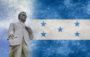 Honours the President of the Federal Republic of Central America from 1830 to 1839.