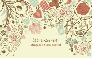 Bathukamma is floral festival celebrated by the Hindu women of Telangana