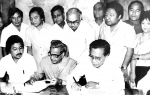 On 30 June 1986, a peace agreement was signed between the Mizo National Front and the Central government, ending 20 years of insurgency in Mizoram