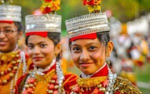 A festival of the Khasi Community in Meghalaya celebrating their culture and traditions