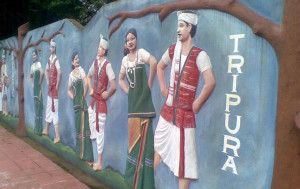 Tripura. The day before the last day of Bengali Calendar Year