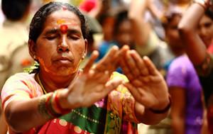 Telangana, a Hindu festival celebrating Goddess Mahakali in the twin cities of Hyderabad and Secunderabad