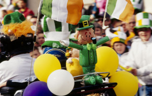 The first recorded St. Patrick's Day parade didn't actually take place in Ireland, when on 17 March 1762, Irish soldiers serving in the English military marched through New York City.