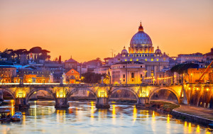 Vatican City, in Rome, is the smallest country in the world.