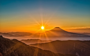 "In Japanese, the name ""Japan"" is Nihon or Nippon, which means ""Land of the Rising Sun."" It was once believed that Japan was the first country to see the sun rise in the East in the morning."