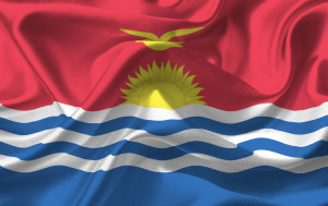 Commemorates Kiribati gaining independence from the United Kingdom on this day in 1979.