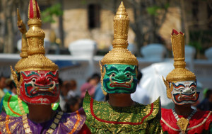 Celebrated for three days, this is the most important festival in Laos
