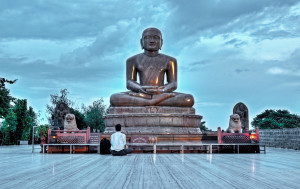 Mahavir Jayanti celebrates the birth of Mahavira, the last Tirthankara (24 great sages)