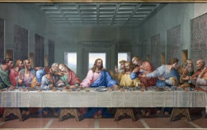 Huwebes Santo. Commemorates the last supper and established the ceremony known as the Eucharist