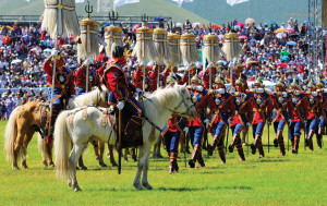 Second day of a five-day holiday to coincide with the Naadam Festival