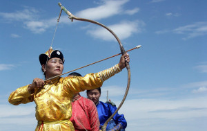 Third day of a five-day holiday to coincide with the Naadam Festival