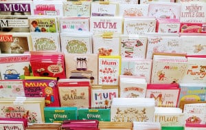 Approximately 65 percent of card sales occur five days prior to Mother's Day.