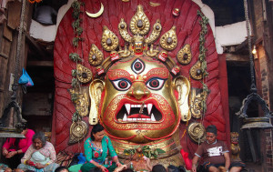 An eight-day long festival of the Newari community of the Kathmandu Valley, commonly known as Yenyā