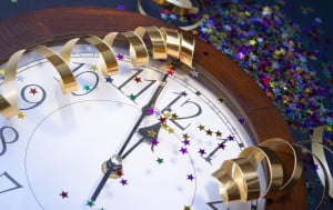 The last day of the year in the Gregorian calendar is usually celebrated with parties as midnight approaches