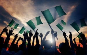 This is the national day of Nigeria and is always celebrated on October 1st. It marks independence from British rule on 1 October 1960.