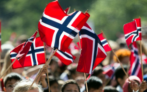 Constitution Day is the National Day of Norway and is an official national holiday on May 17. In Norway, the day is called 'syttende mai' (meaning  Seventeenth