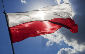 Poland's flag of red and white stripes follows a tradition that dates back to the thirteenth century, when the colours were used on the nation's earliest documented coat of arms.
