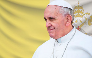 Marks the election of Pope Francis on March 13th 2013. Varies with each reigning pope.