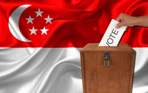 Polling day at a general election in Singapore is a public holiday, and voting is compulsory.