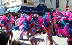 The carnival is celebrated on Queen Juliana's Birthday