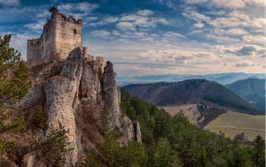 Slovakia has the world's highest number of castles and chateaux per capita.